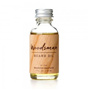 The Bearded Bastard Woodsman Beard Oil - olejek do brody o zapachu cedru i sosny