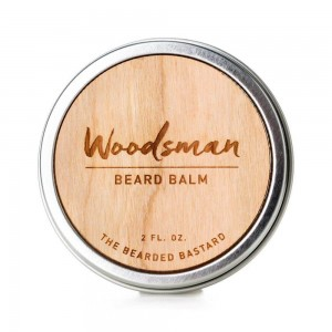 The Bearded Bastard Woodsman Beard Balm - balsam do brody o zapachu cedru i sosny