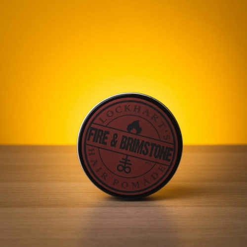 Lockhart's Fire & Brimstone Heavy Hold Pomade - woskowa pomada do włosów