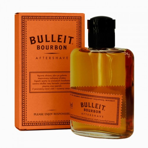 Pan Drwal x BULLEIT Burbon Aftershave - woda po goleniu
